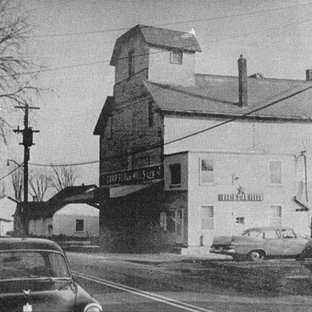 The Carp Flour Mill in the early 1950's.